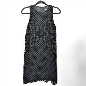 NWOT Laundry Velvet Burnout Trapeze Dress